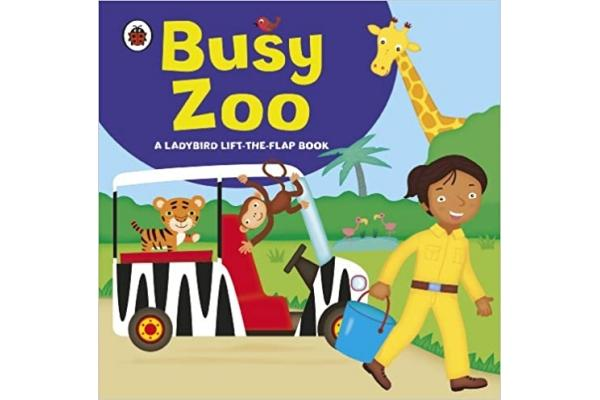 Ladybird lift the flap book : Busy Zoo