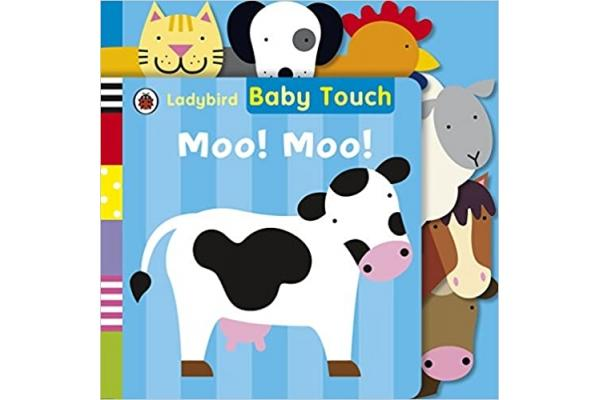 Baby Touch : Moo! Moo! Tab Book