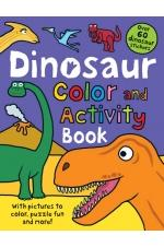 Color and Activity Books Dinosaur