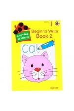 Learning at Home Series 1: Begin to Write Book - 2