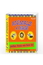 Animals & Birds: 24 Piece Puzzle and Book Kit