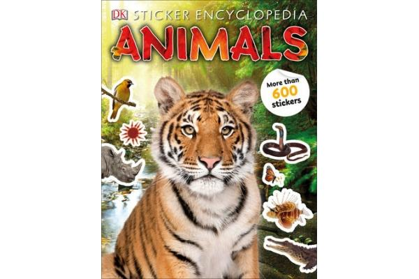 Sticker Encyclopaedia Animals