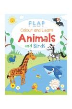 Colour and Learn - Animals and Birds