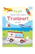 Colour and Learn - Transport