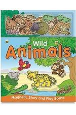 Magnetic Play And Learn: Wild Animal
