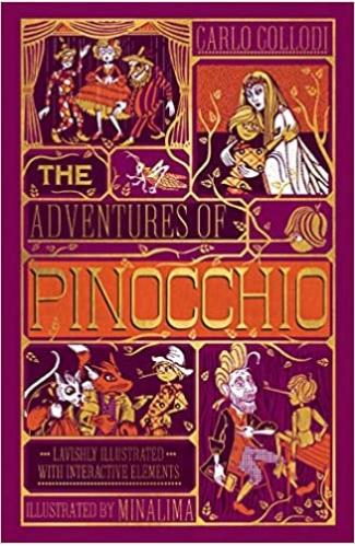 The Adventures of Pinocchio: Illustrated Interactive