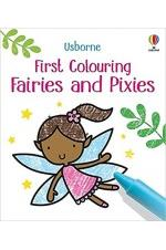 First Colouring Fairies and Pixies