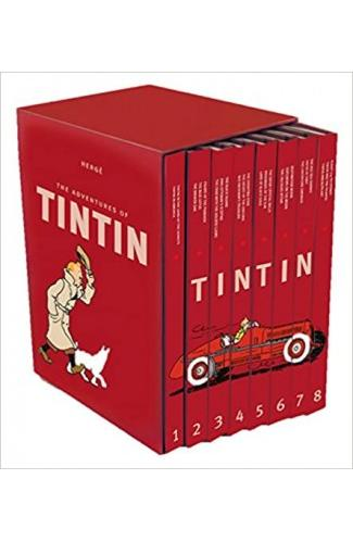 The Adventure of Tintin - Compact Edition (Set of 8)